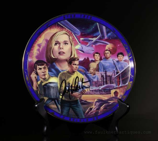 Star Trek, 1996, Plate, Hamilton, To Boldly Go, Where No Man Has Gone Before, Episode,