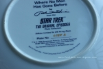 Star Trek, 1996, Plate, Hamilton, To Boldly Go, Where No Man Has Gone Before, Episode,