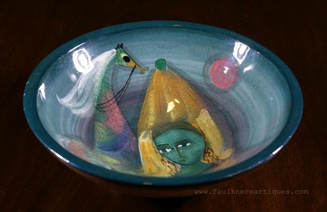 Polia Pillin art pottery   FAULKNER'S ARTIQUES