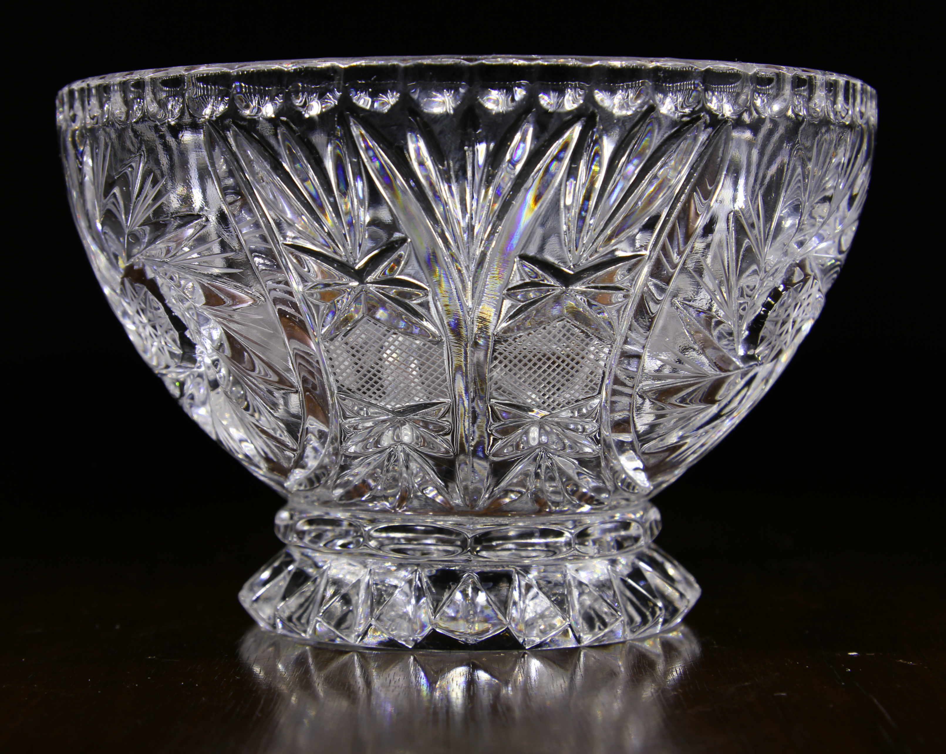 Your vintage german crystal out